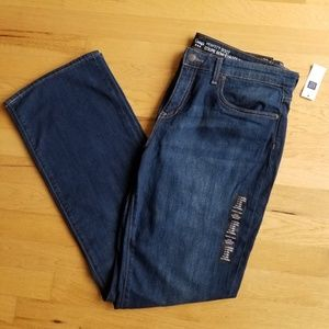 Gap Mid Rise Boot Cut Jeans